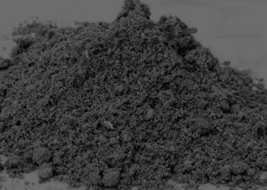 small pile of ash