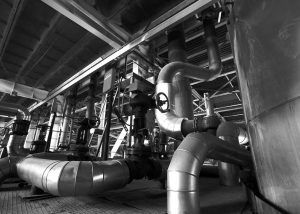 industrial pipework